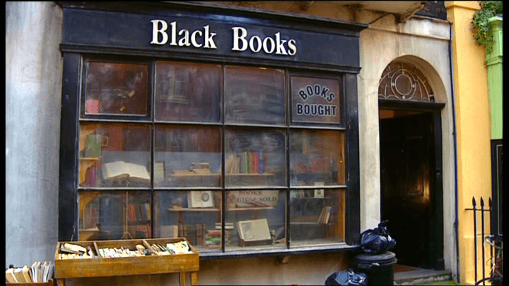 Сериал - Black Books (комедия)